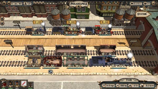 Bounty Train Screenshot
