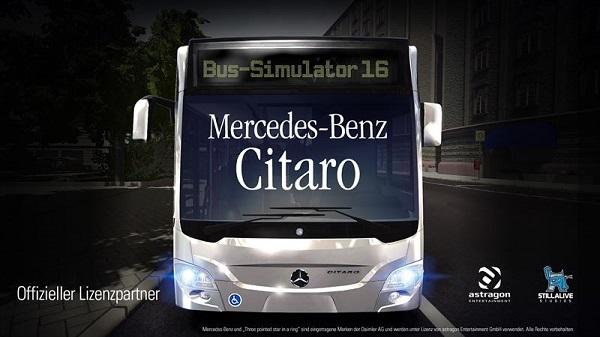 Bus-Simulator 16 Mercedes-Benz