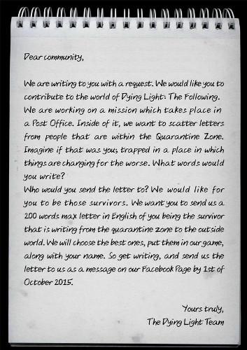 Dying_Light_Fan_Letter_Request
