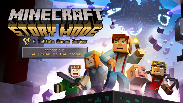 Minecraft Story Mode Ep 1 key art