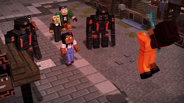 Trailer Zur Episode Von Minecraft Story Mode Season - Minecraft playstation und pc zusammen spielen