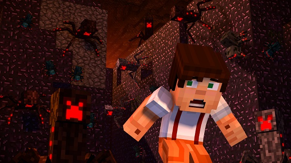 Trailer Für Episode Von Minecraft Story Mode Season - Minecraft spielen mit freunden