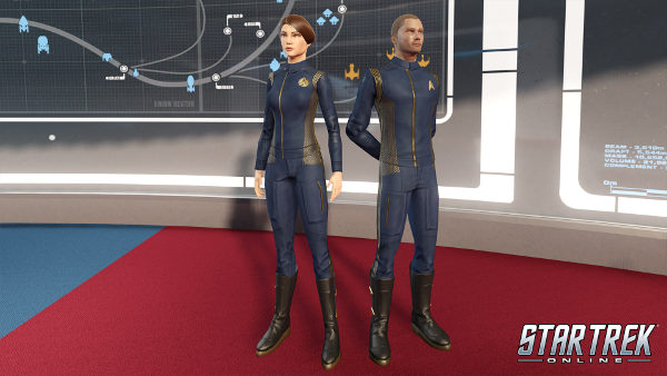 Star Trek Online Discovery Uniform